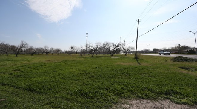 Rachel Denny Clow/Caller-Times file The proposed River View at Calallen Apartments would be built at this location in the 12000 block of Leopard Street.
