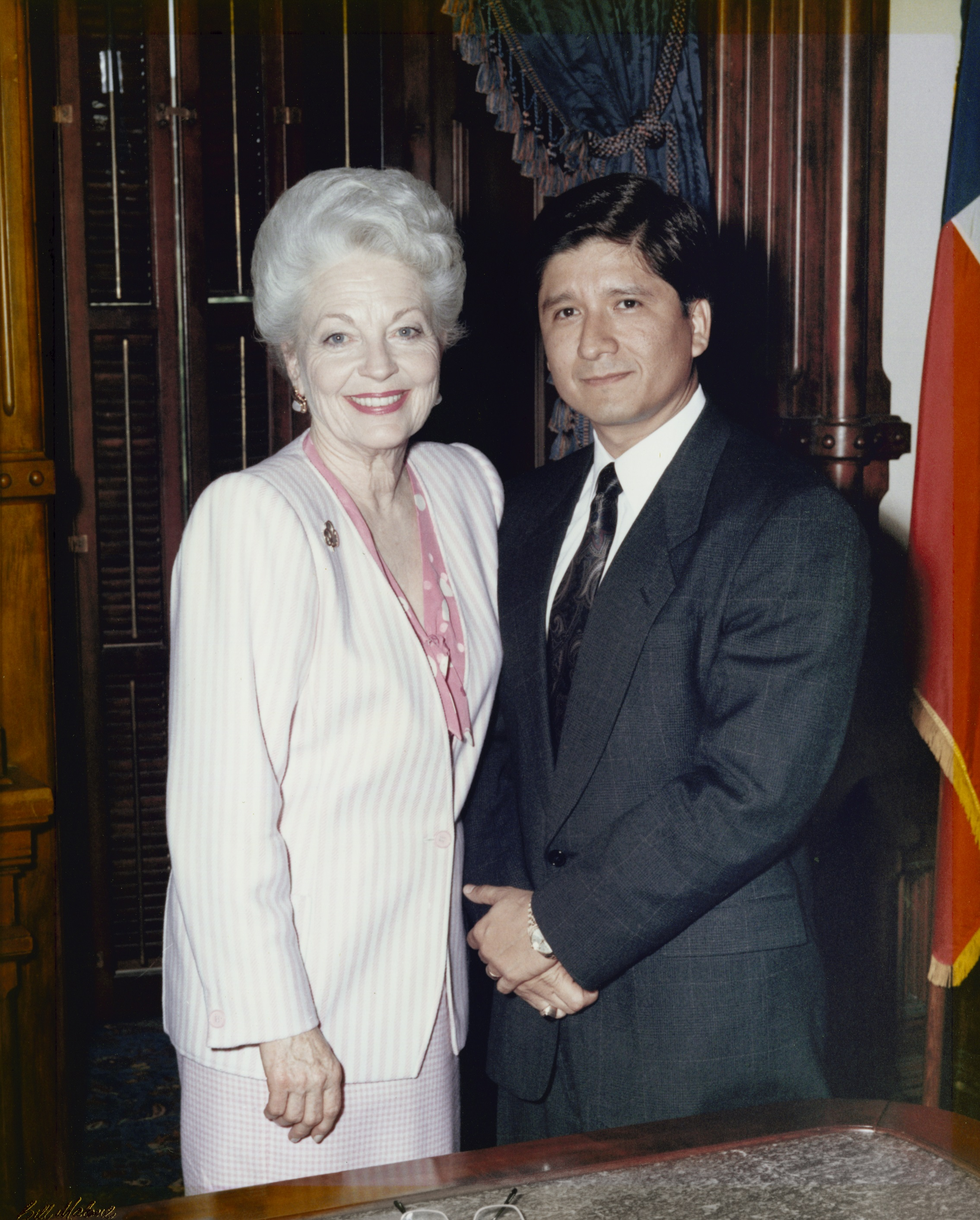 Henry Flores - Governor Anne Richards