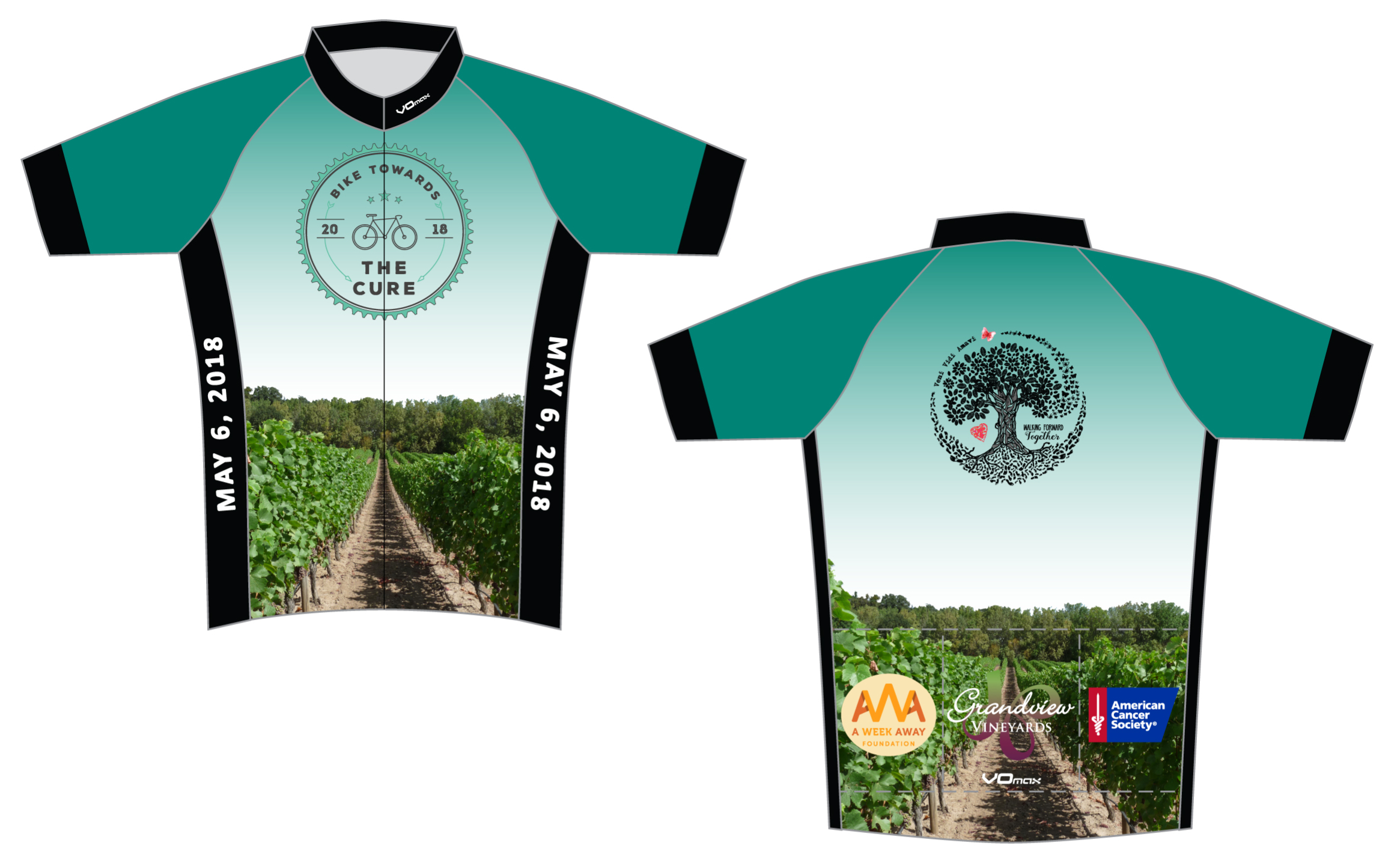 2018 BTTC Jersey! - Online store opening soon! Limited quantities and size available day of the ride, so order online!