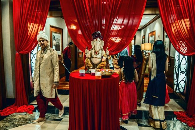 Red. . . . . . . #red #hindi #wedding #lost #14mm #rokinon #cinelens #7d #canon #ganesh #culture #ilovepeople #hindu #reception #classy #diversity #instapeople #instagram #deadcenter #off #compositionoff #oneworld #travel #instatravel #worldpeople #colors #colours #fashion #hindufashion