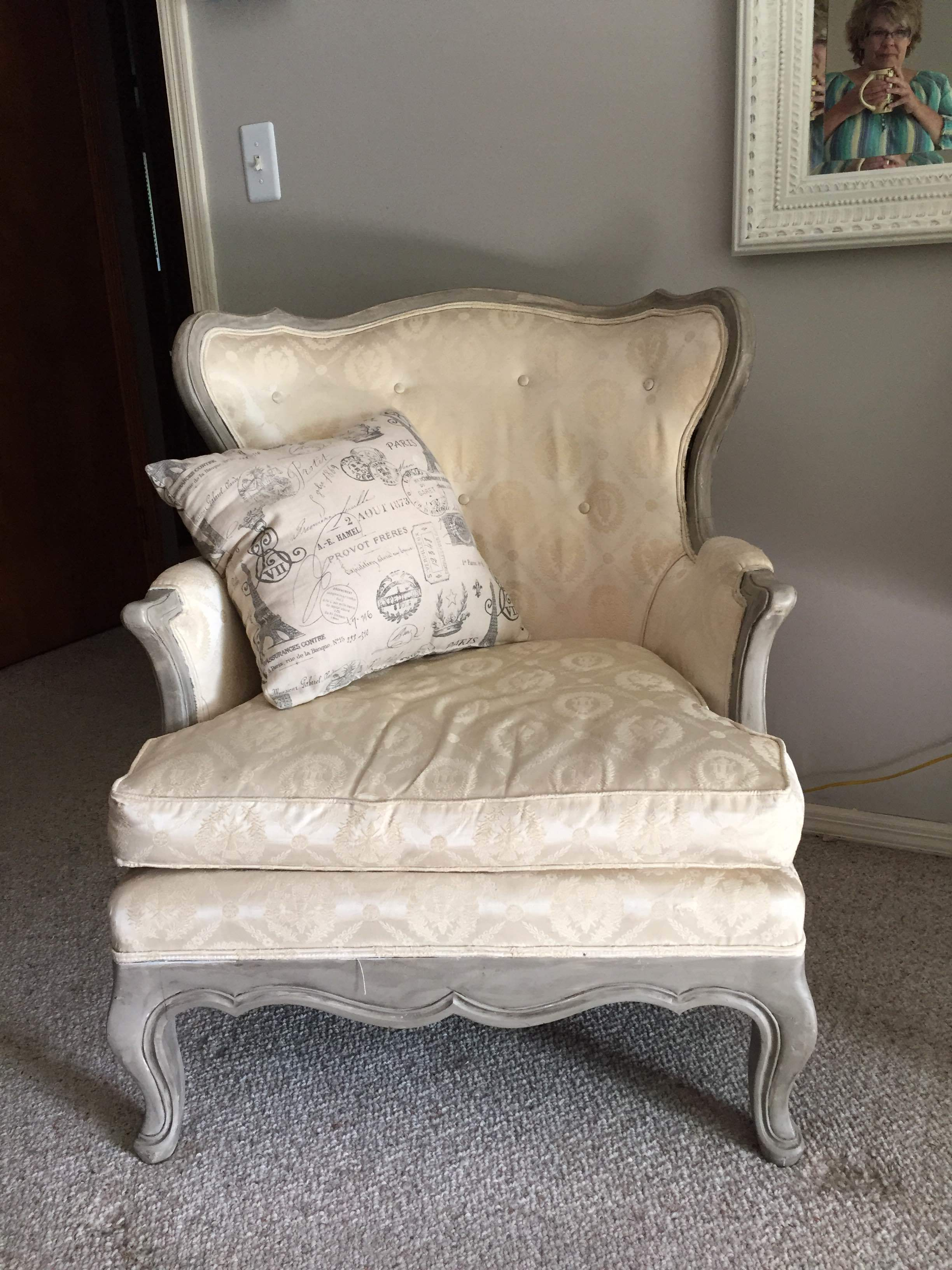 This chair was a recent purchase from an occasional shop-- $59!