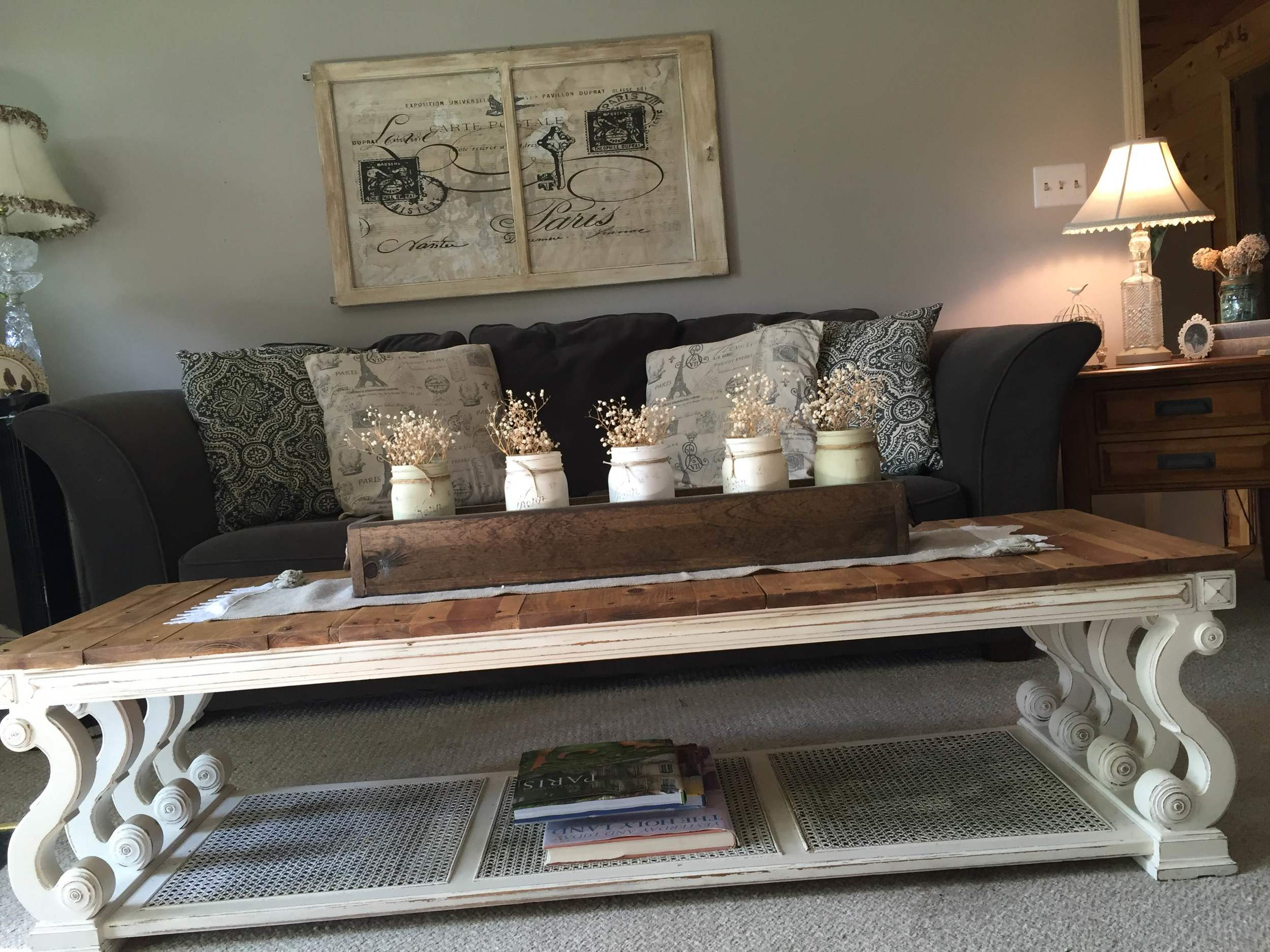 Stacey has always been a bargain hunter, she bought her couch and love seat brand new with the tags still on them at a thrift store for $165!
