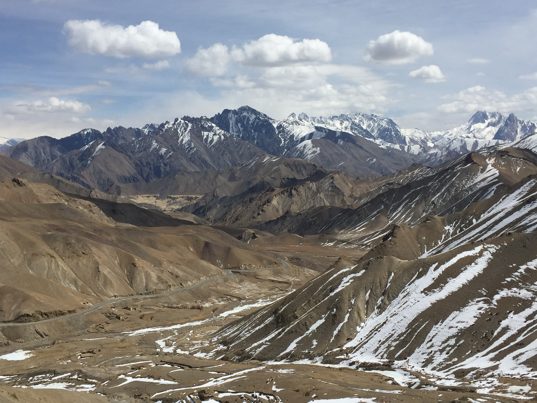 Karakoram Mountains, Ladakh, India