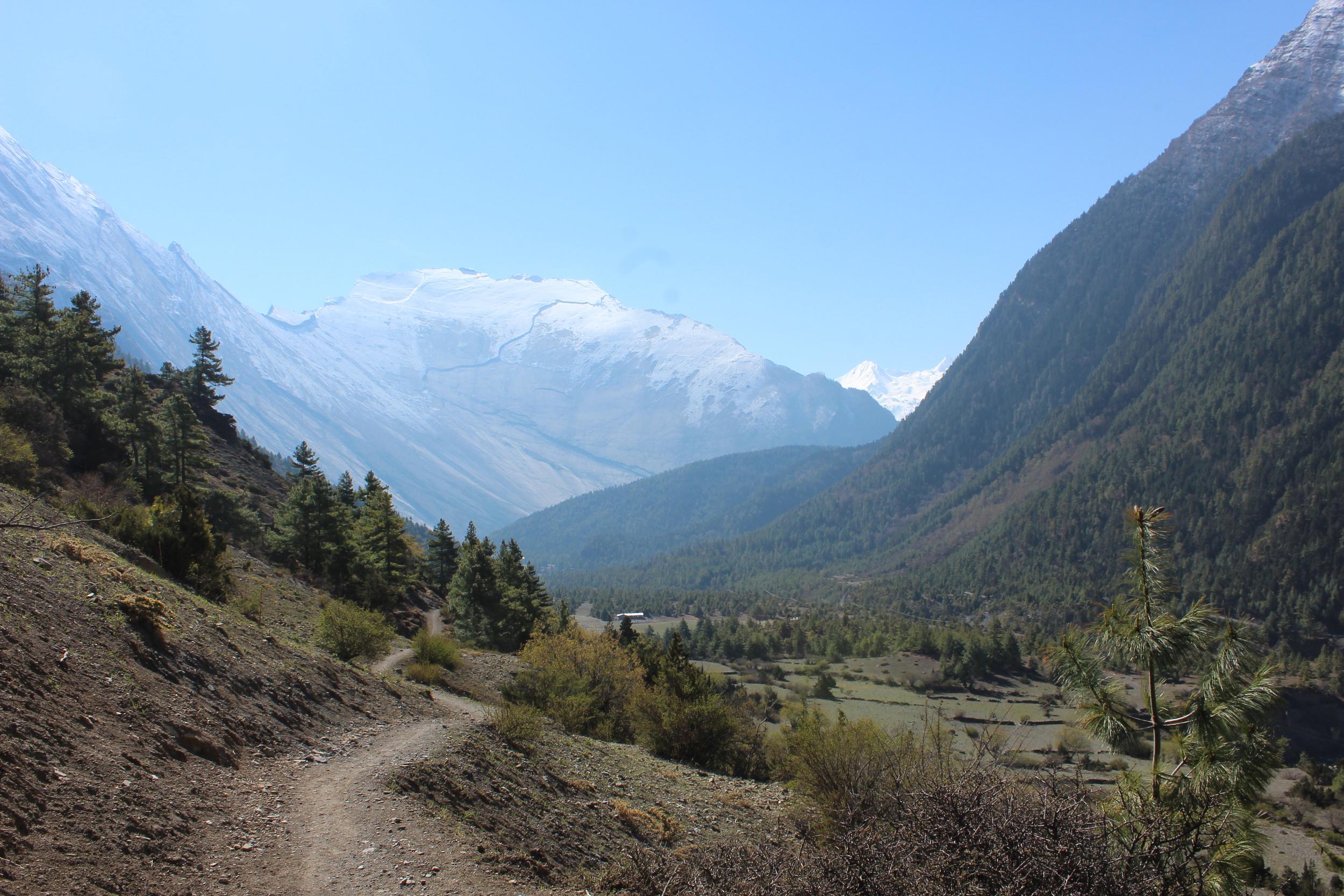 Upper Pisang, Annapurna Mountain Range, Nepal