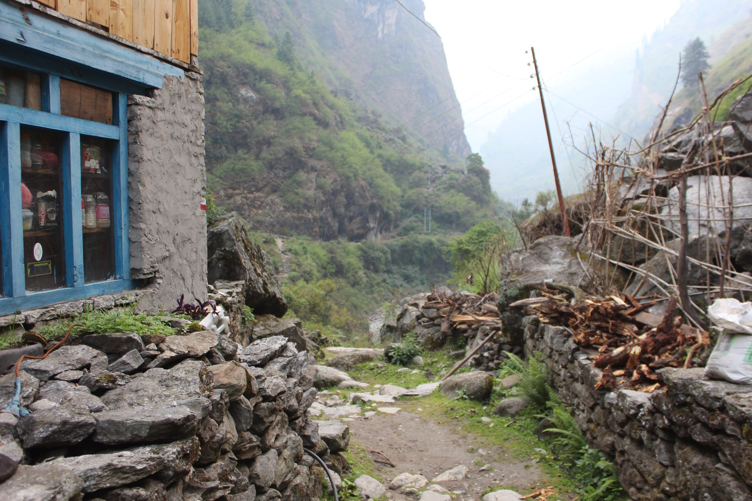 Dharapani, Annapurna Mountain Range, Nepal