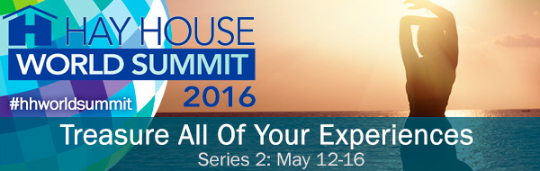 Click the image and go directly to the Hay house world summit. If you are already registered, you do nothing other than enjoy...if you need to register, don't worry...it free and full of goodness!!
