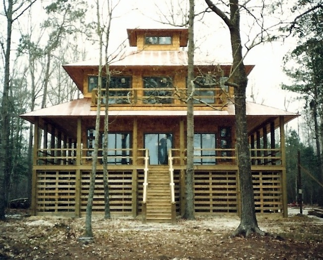 Collie House. Pasquotank County, NC - Designed by Greg Frucci. Completed in 1991.
