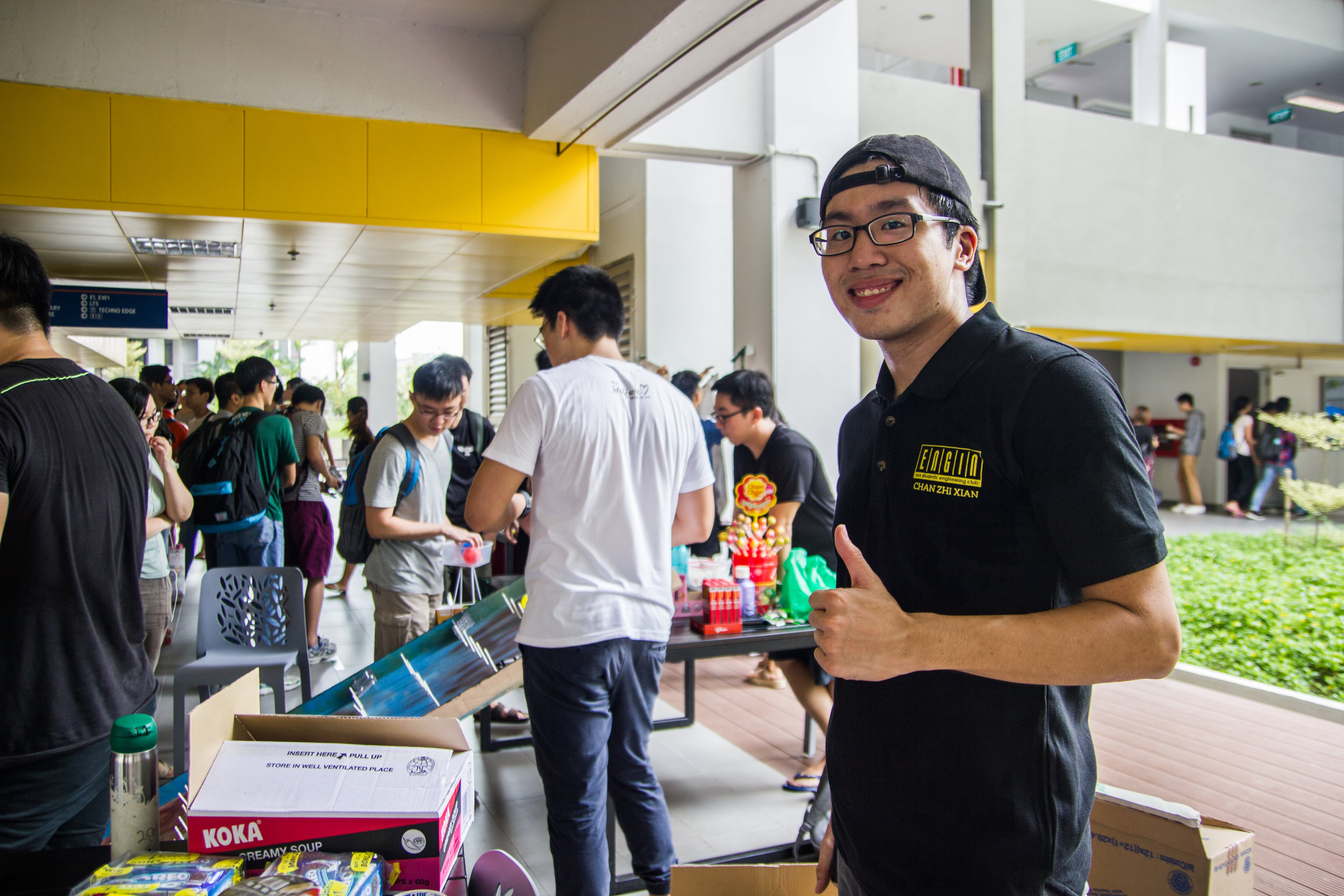 Game Booths by Student Life committee