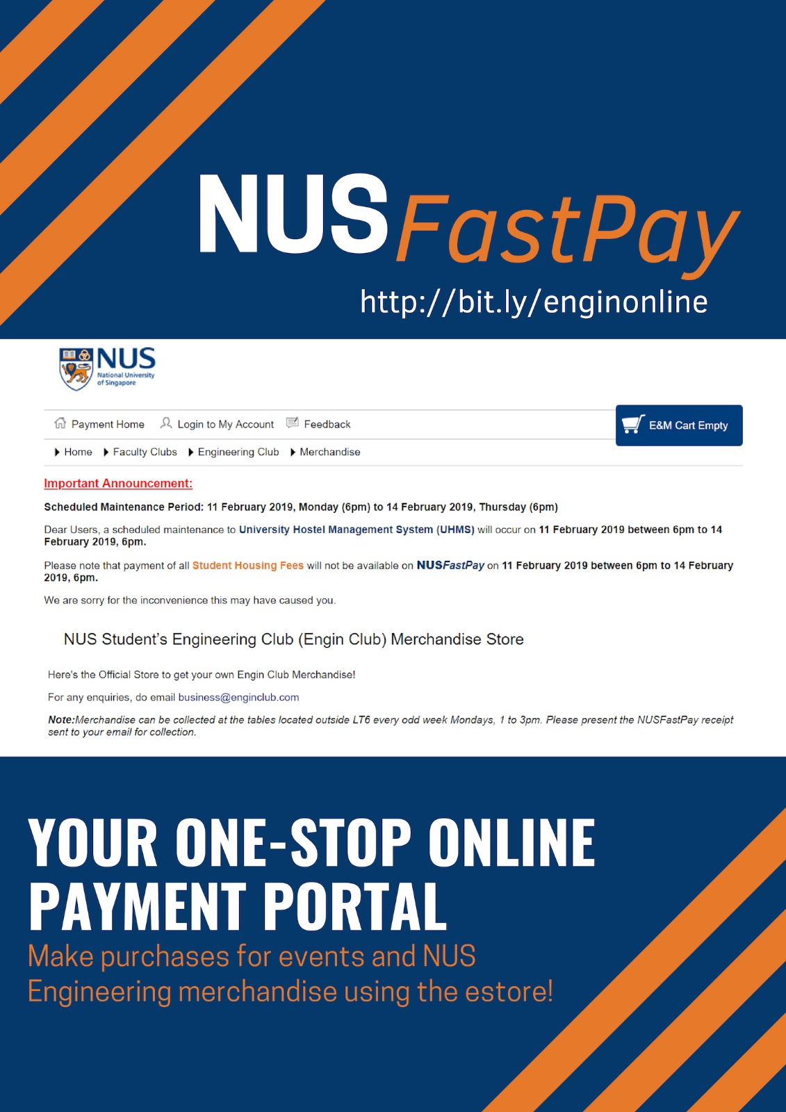 NUS FastPay