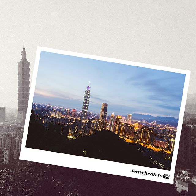 五年了 !  繁華一點沒變 人心究竟變了多少 ?  大雨過後還剩多少真實  #真假 #人心 #Taipei #雨下的有些煩 #大姨媽來