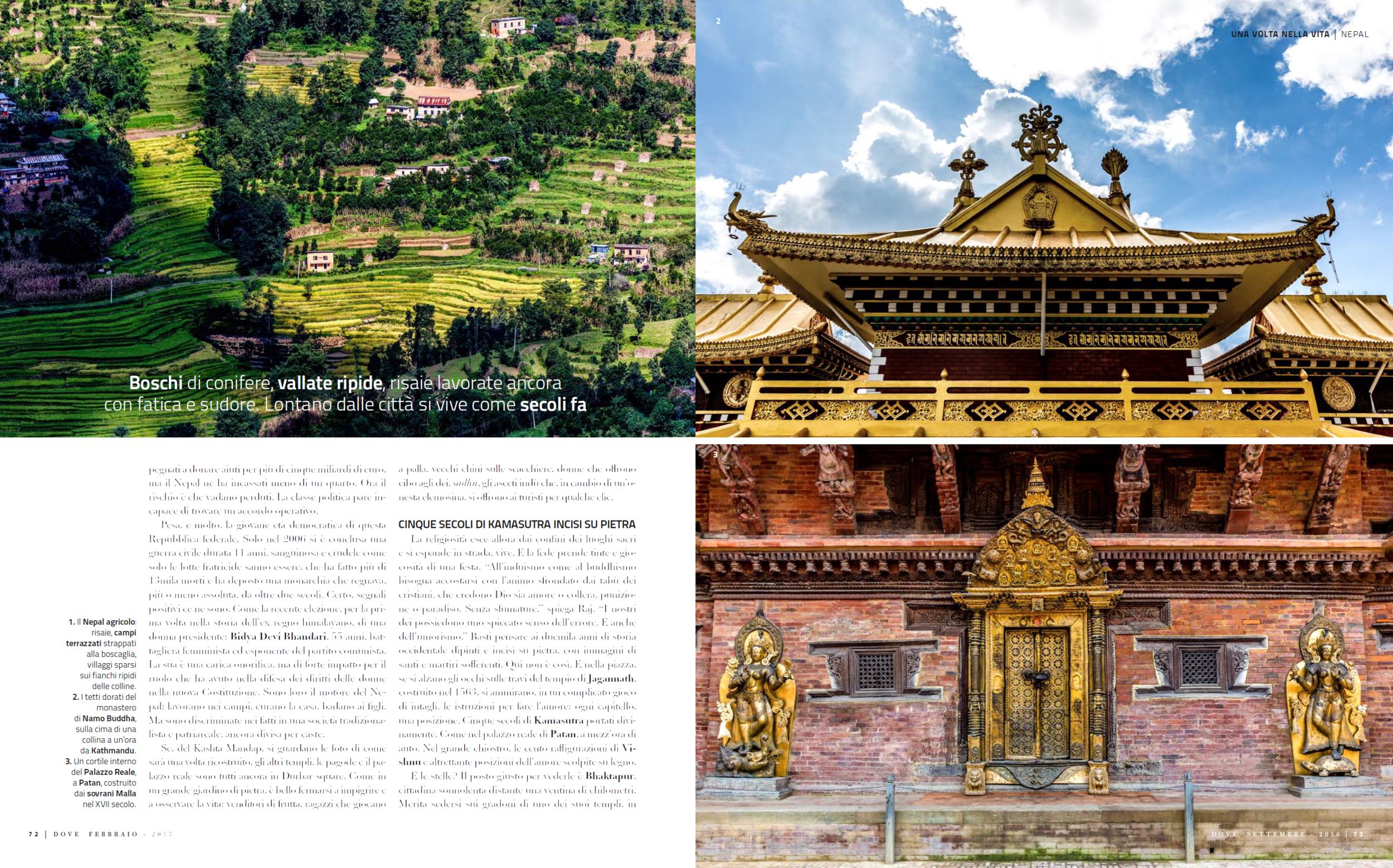 Reportage on Nepal