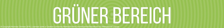 Green Zone Label - German Version