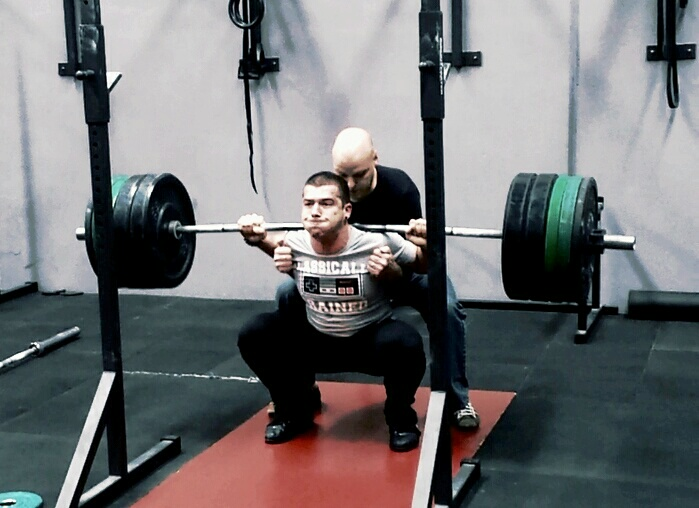After a few years of strength, stability and rehab work, I was able to lift heavy weights while being injury free.
