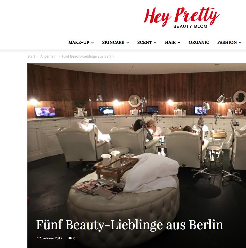 hey pretty - Beauty Lieblinge aus Berlin