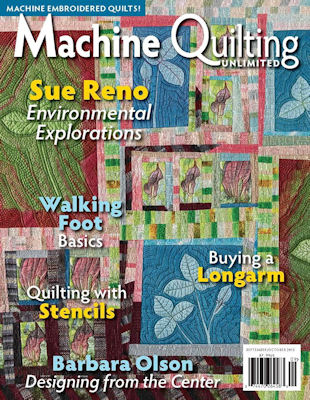 Machine Quilting Unlimited  -  September 2015
