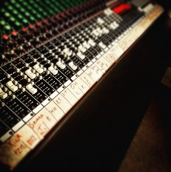 Always relish the opportunity to use an analogue desk