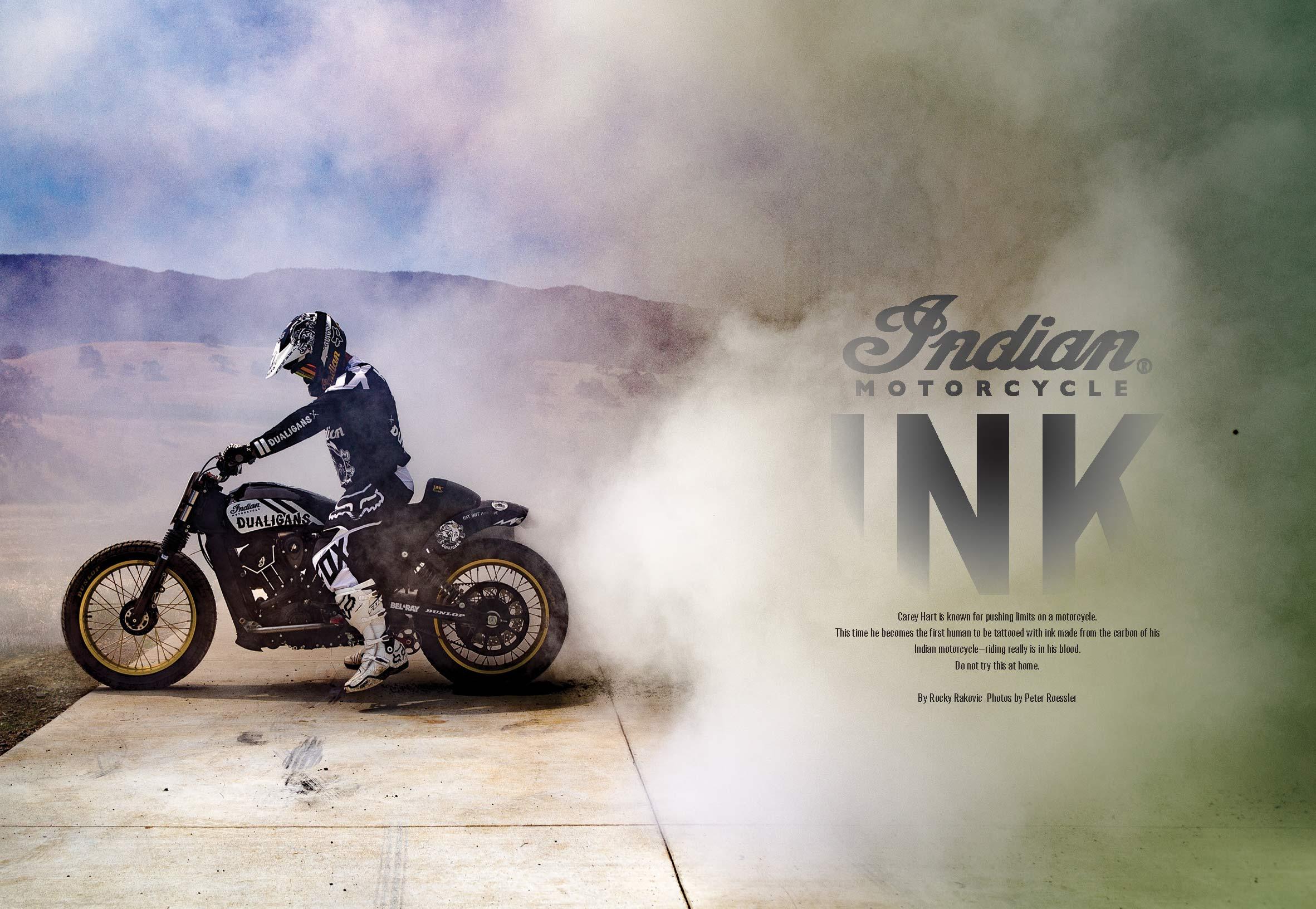 CAREY HART - INDIAN MOTORCYCLE