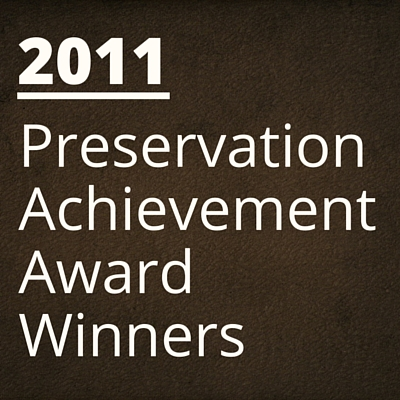 2011 NH Preservation Alliance Awards Winners
