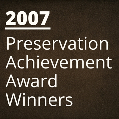 2007 NH Preservation Alliance Awards Winners