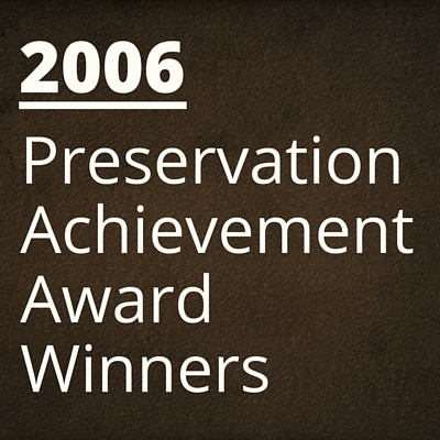 2006 NH Preservation Alliance Awards Winners