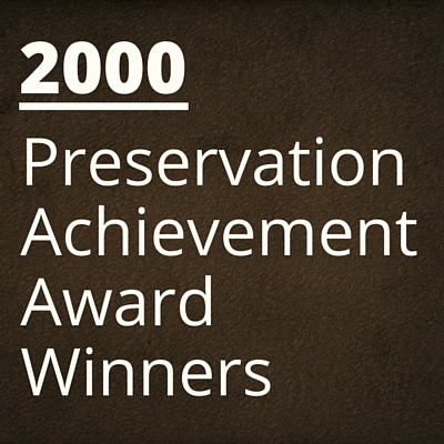 2000 NH Preservation Alliance Awards Winners