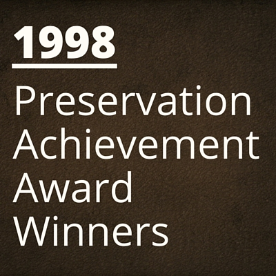 1998 NH Preservation Alliance Awards Winners