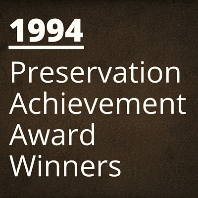 1994 NH Preservation Alliance Awards Winners