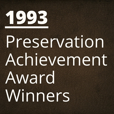 1993 NH Preservation Alliance Awards Winners