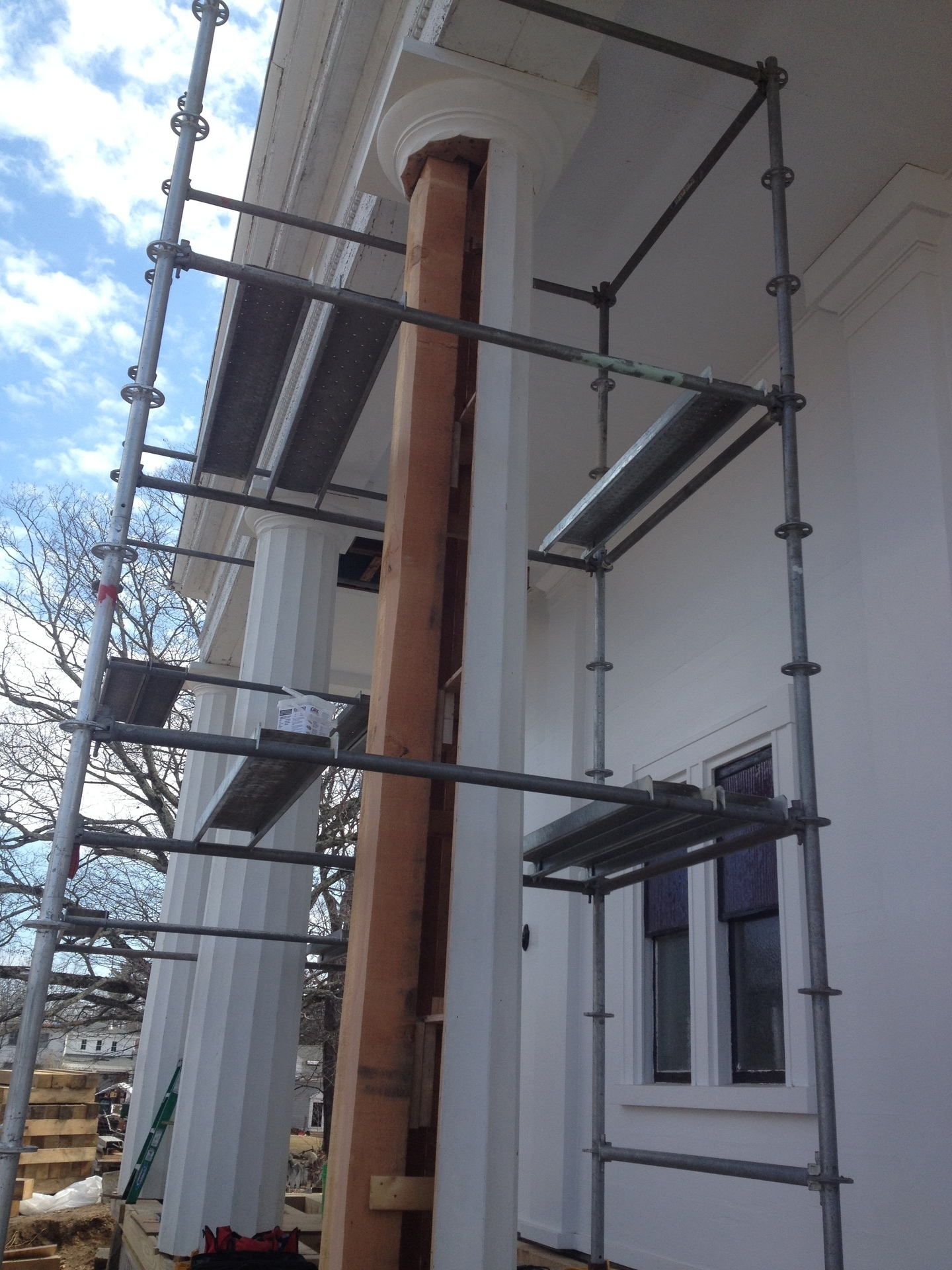 7 Northwood, In Progress, Column (courtesy of PTF).jpg