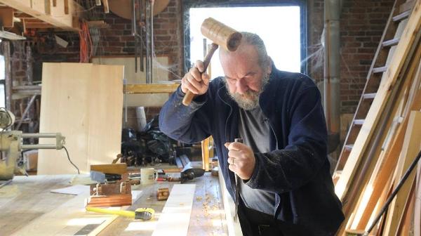 David Adams. Photo courtesy of The Craftsmen's Journal.