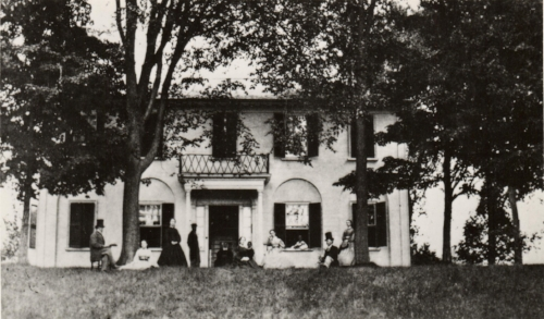 Historic view of Rogers House, courtesy Orford Social Library