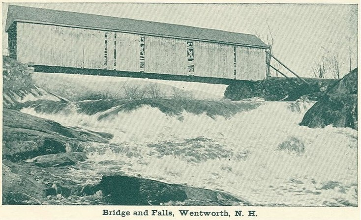 Wentworth's covered bridge. Courtesy Wentworth Historical Society