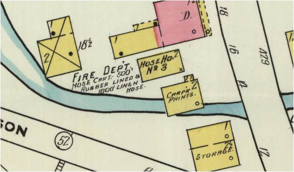 1910 Sanborn Fire Insurance Map