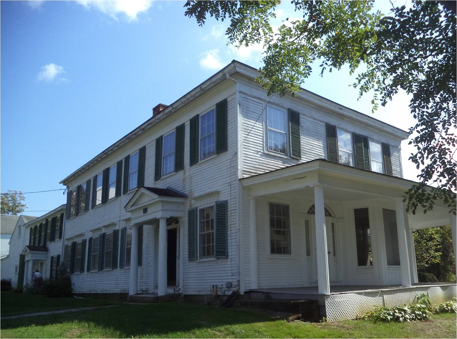 The Col. Brown House in Haverhill Corner received one of 29 historic preservation project grants across the state this LCHIP grant round. The $150,000 grant to project leaders, Haverhill Heritage, will be used for acquistion and repair; it follows an assessment grant from the Preservation Alliance earlier this year.