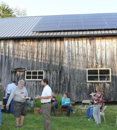 Your barn roof could help you save on electricity costs.