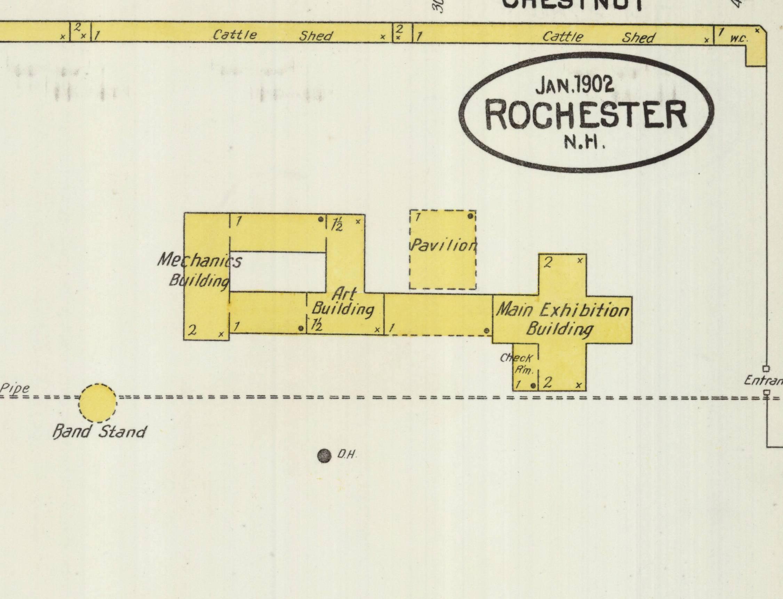 1902 Sanborn Fire Insurance Map.