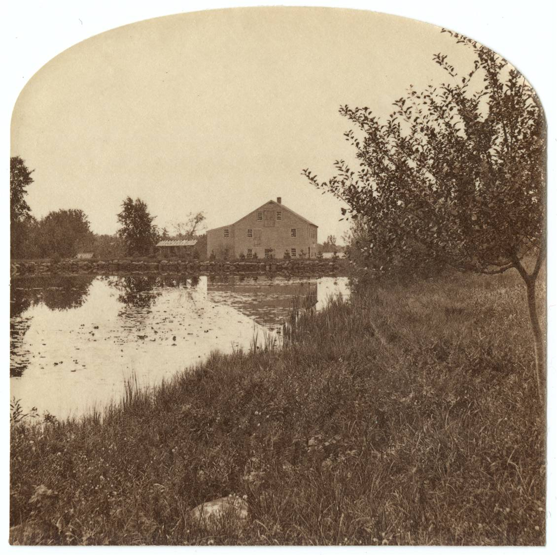 Turning Mill. Courtesy Canterbury Shaker Village.