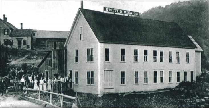 United Mica Mine, Grafton