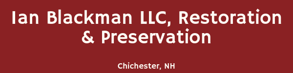 Ian Blackman LLC, Restoration & Preservation