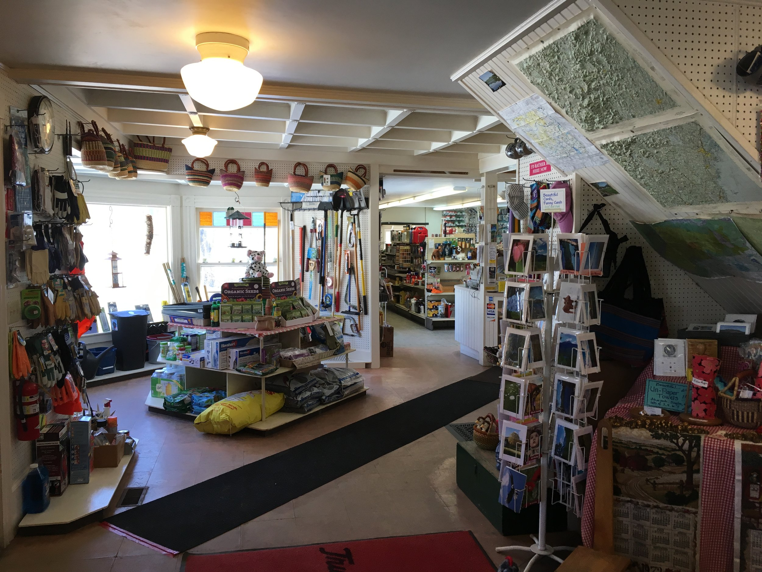 "The interior of Tamworth's ""The Other Store."""