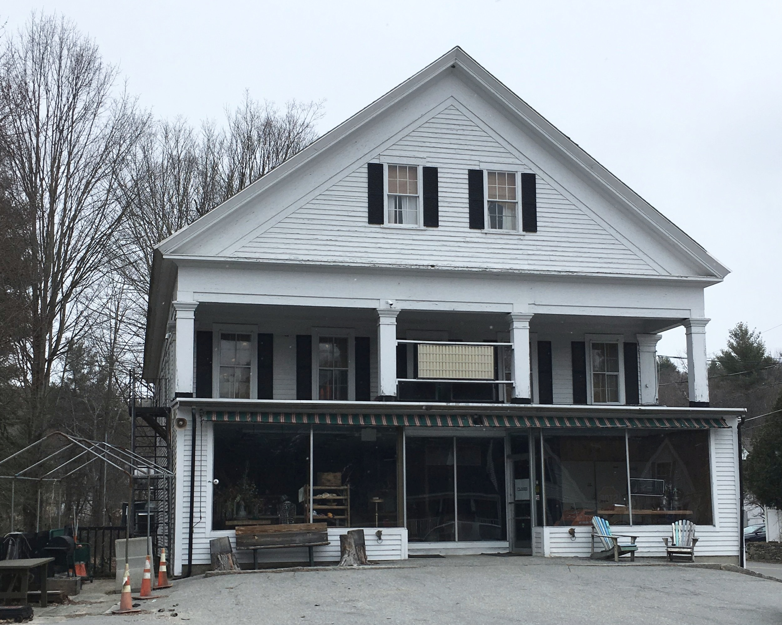 The Brookline General Store closed in April 2017.