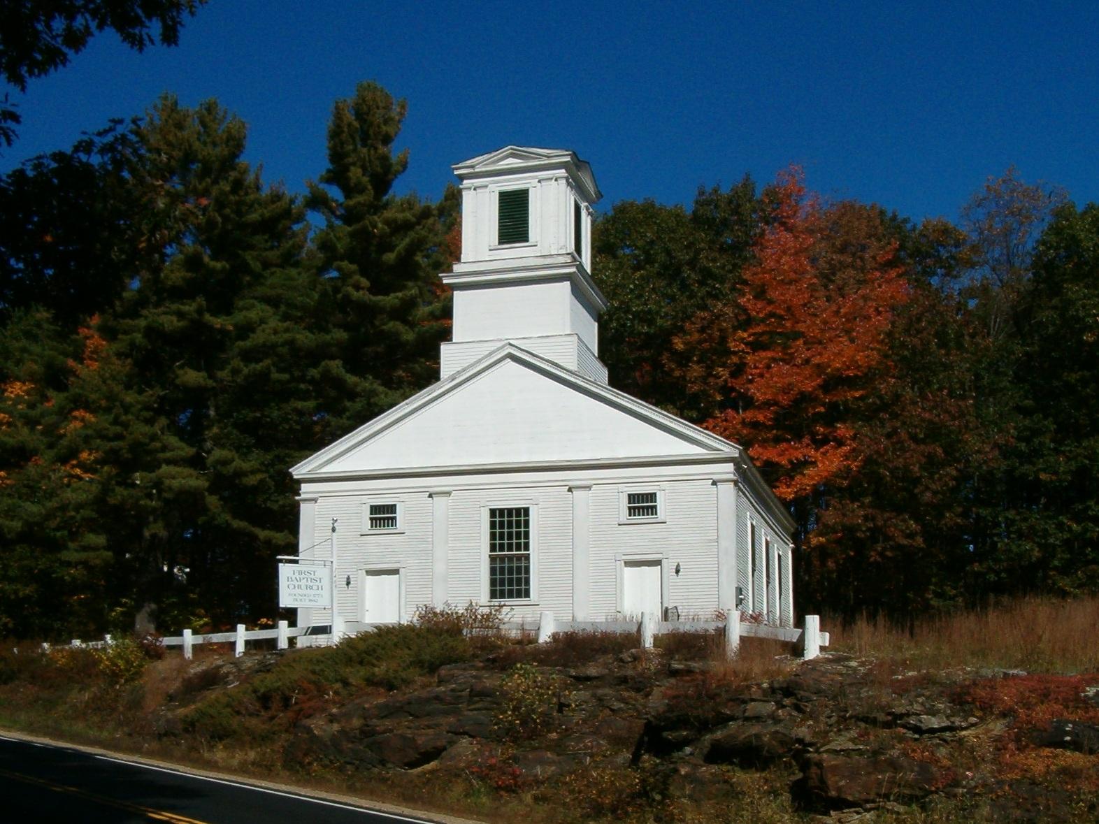 Gilmanton, First Baptist Church