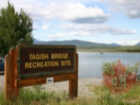 Tagish Bridge Recreation Site  Public access to the river & lakes just walking distance from our premises.