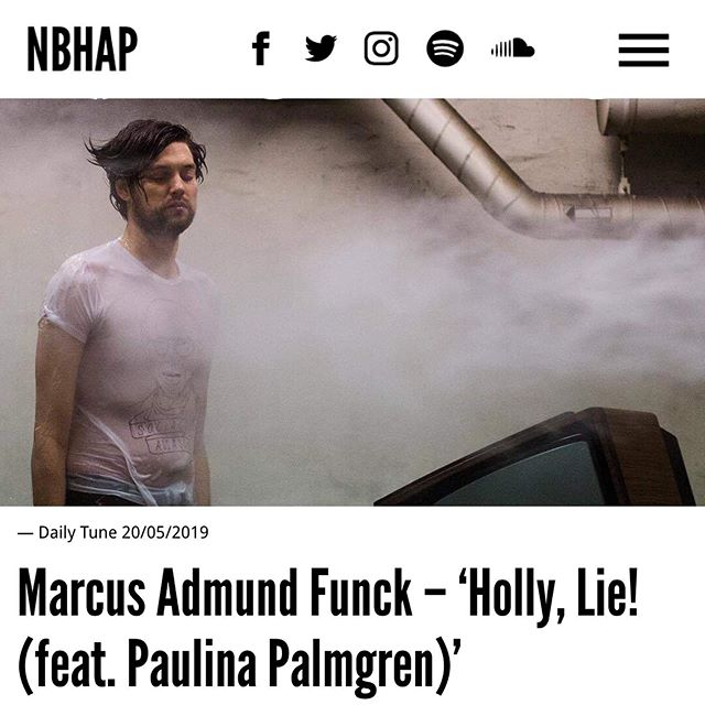 "@marcusadmundfunck feat @paulinapalmgren is today's ""Daily Tune"" over at @nbhap! . . #marcusadmundfunck #paulinapalmgren #birdsrecords #nbhap #nothingbuthopeandpassion #vice #indieblog #musicblogger #musiclabel #recordlabel"