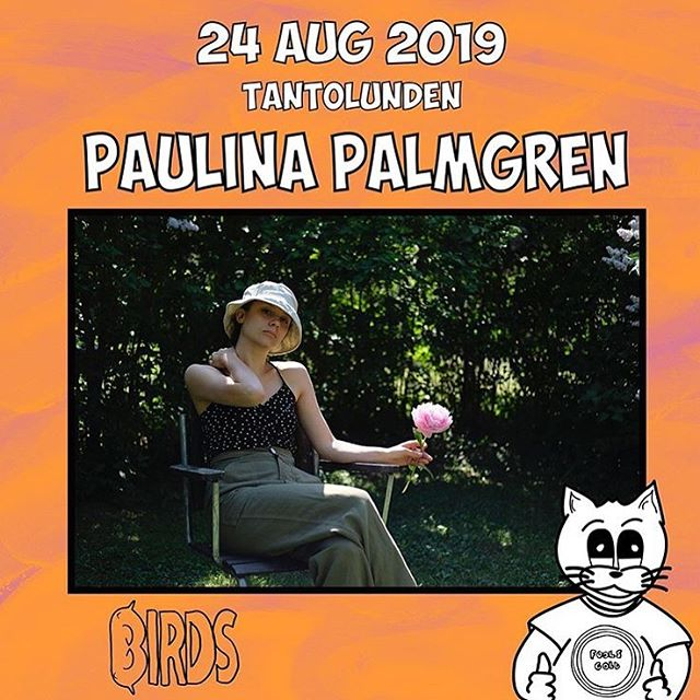 @paulinapalmgren will play this year's @foolsgoldsthlm on August 24! . . #paulinapalmgren #foolsgold #birdsrecords #independentlabels #indielabels #swedishindie #tantolunden