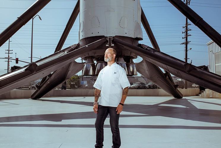 Ted Cizma | Executive Chef, Space X