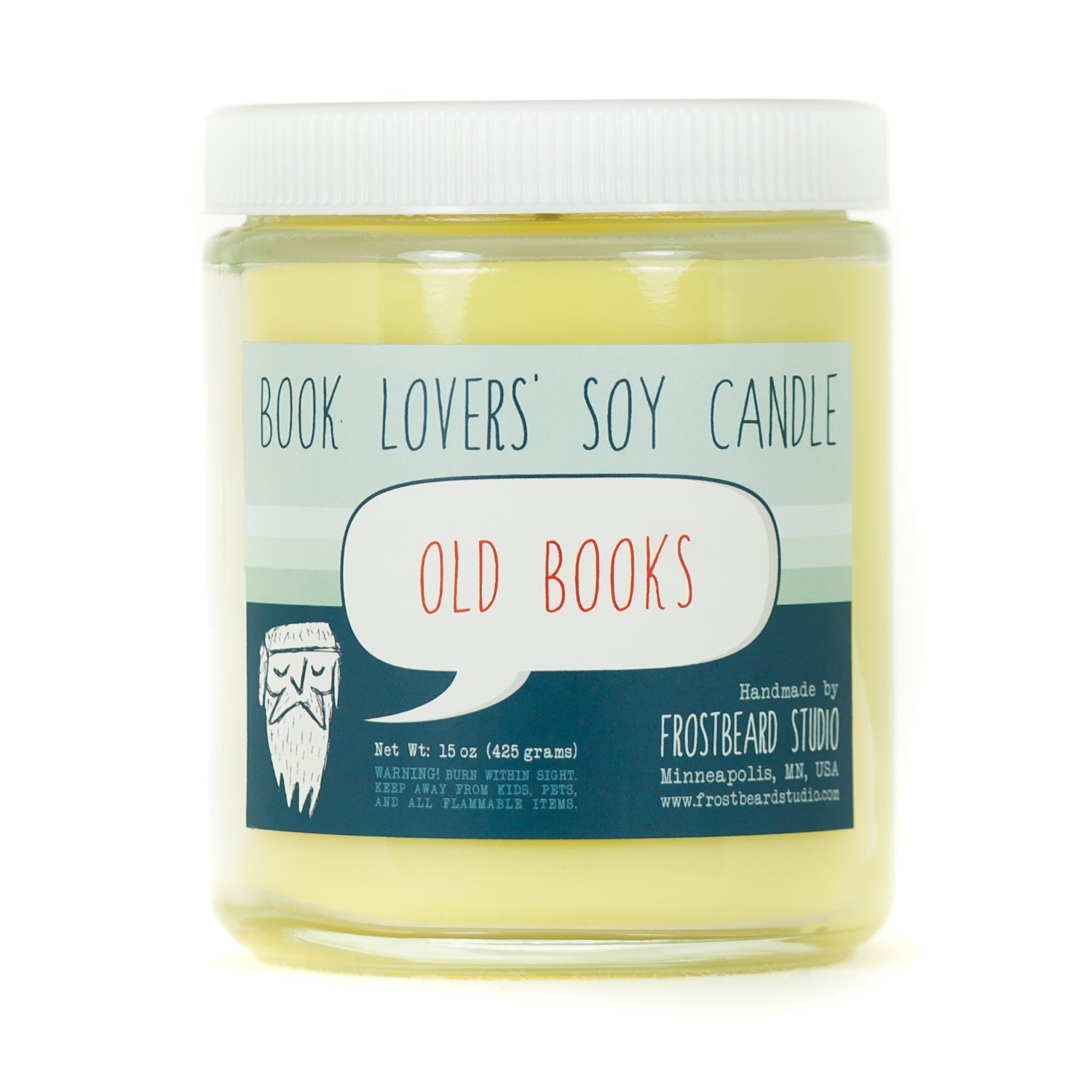 Old Books - Book Lovers' Soy Candle