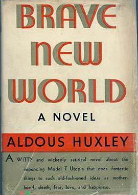 "11. ""Brave New World"" by Aldous Huxley"