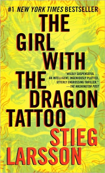 16. The Girl with the Dragon Tattoo by Stieg Larsson