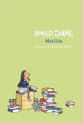 28. Matilda by Roald Dahl